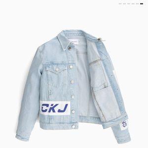 Calvin Klein Jackets & Coats - Calvin Klein BMX Denim Jacket